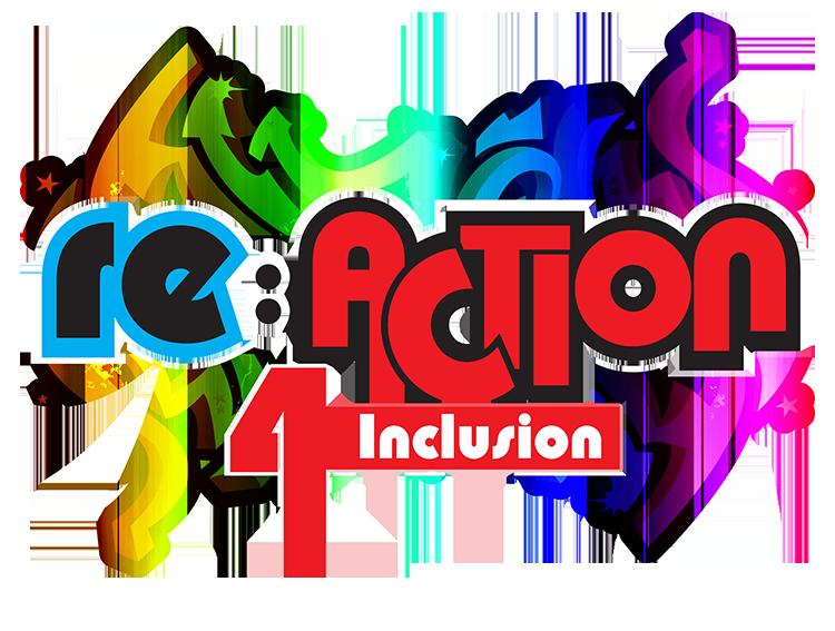Reaction 4 Inclusion Logo